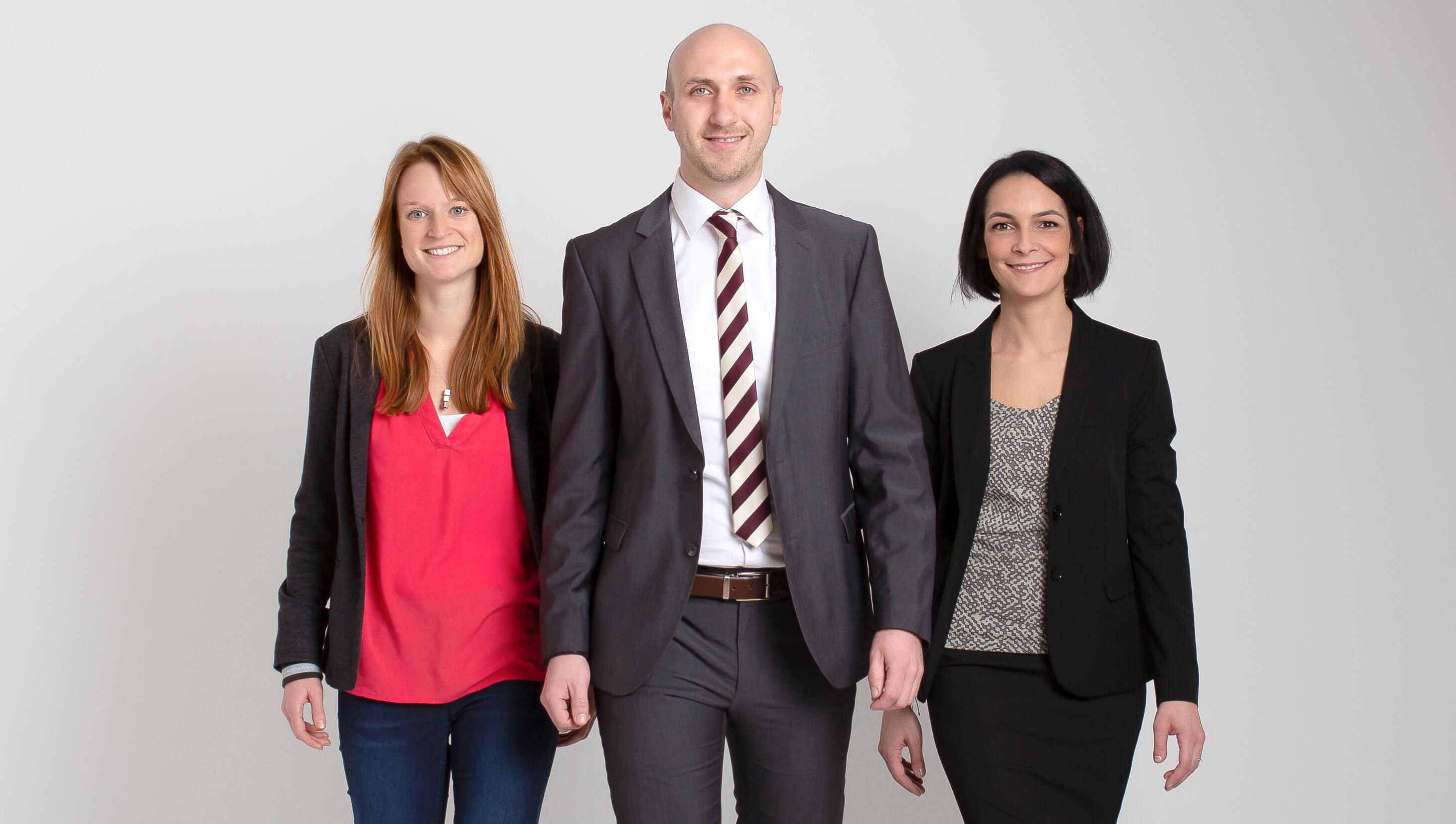qualityfox-Team; Vermittlungsagentur im Qualitätswesen aus Wieselburg: Sarah Welter, M.A., Ing. Michael Lindner, Lisa-Maria Gnant B.A.